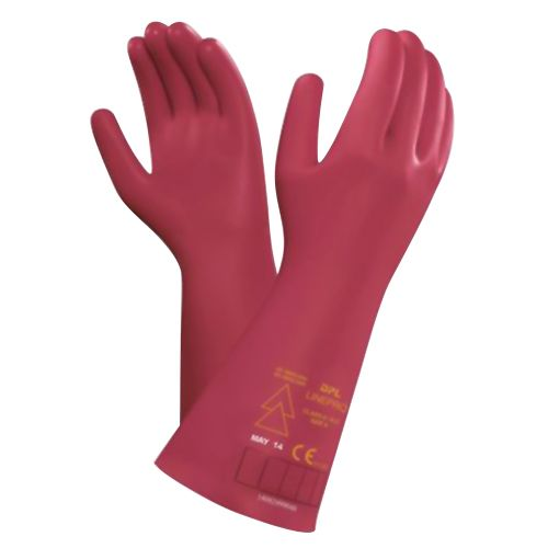 Dpl Linepro Electric Insulating Rubber Gloves Class 00