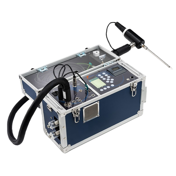 E Instrument Portable Plus Gas Analyser E9000