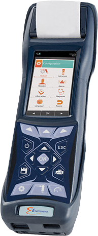 E Instrument Portable Plus Gas Analyser E6000