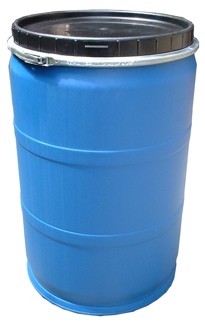 225-LITRES STANDARD GRADE HIGH DENSITY POLYETHYLENE (HDPE) WIDE TOP OPENING DRUM
