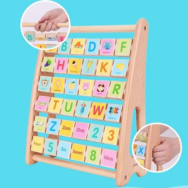 Educational Aids - Alphabet & Numbers Cube