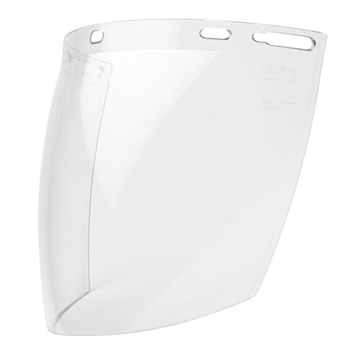 Elvex Clear Polycarbonate Molded Face Shield 8inch X 12inch FS-12PC