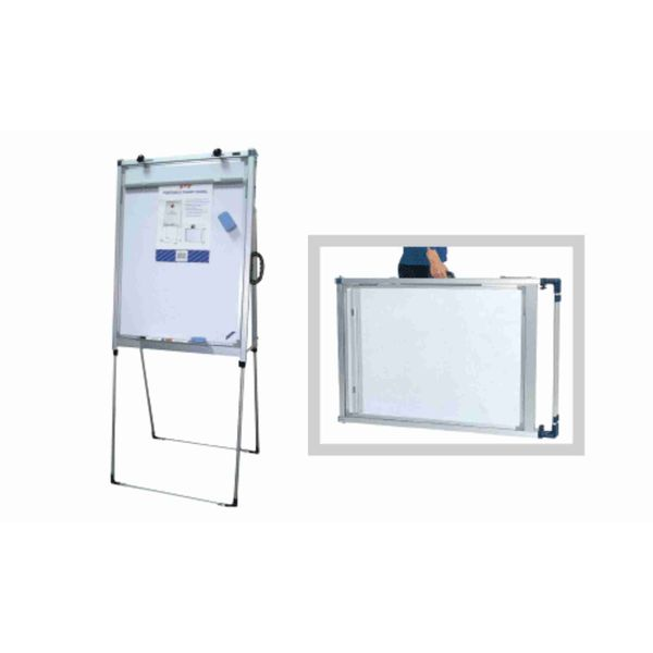 Extensible Chart Easel W/white Magnetic Board