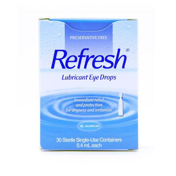 Eye Drop, Refresh Disposable (0.4ml Each) 30's