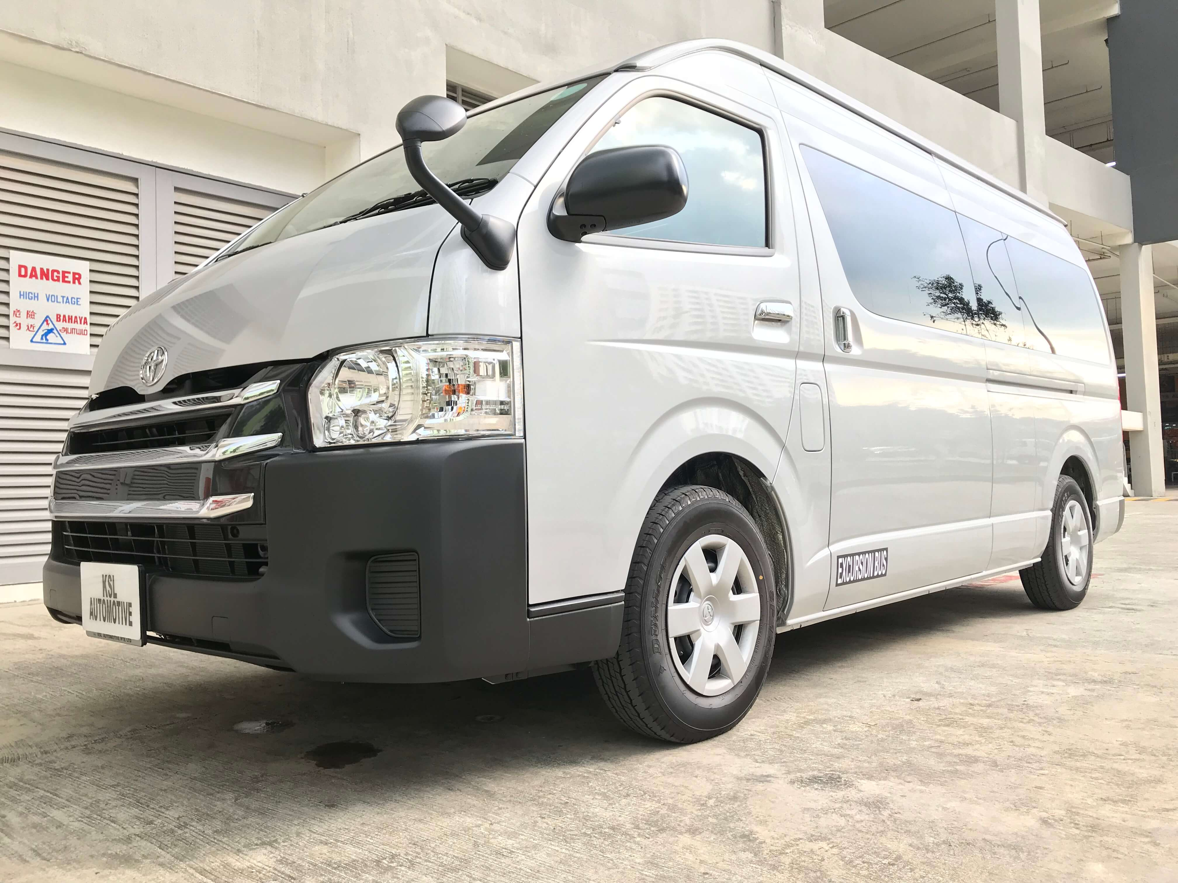 [BRAND NEW] TOYOTA HIACE COMMUTER