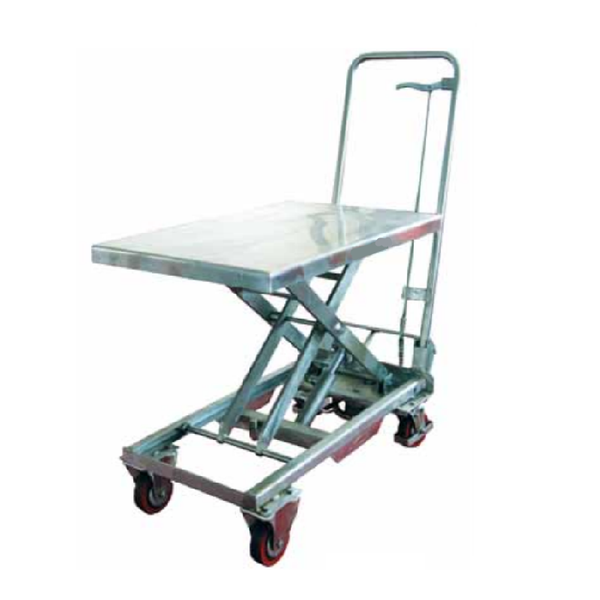 Ezlift Manual Hydraulic Stainless Steel Lift Table Bss Series