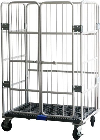 Ezroller Worktainer Roll Cages Trolley With Door