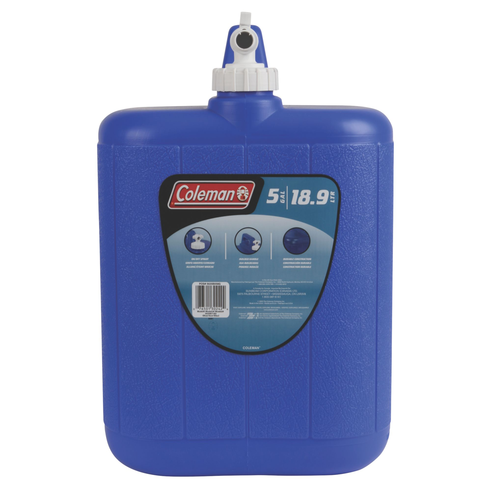 Coleman 5 Gallon (19l) Water Carrier 5620