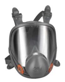 3M Full Facepiece Respirator 6000 Series