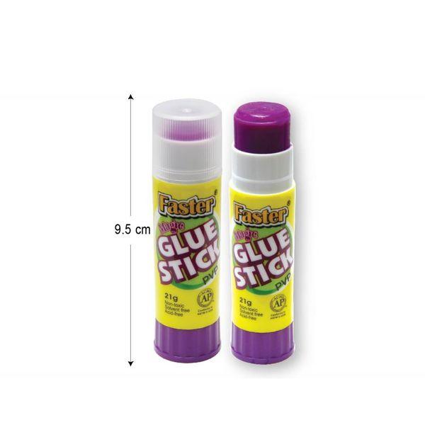 Faster Magic Glue Stick 21gsm (box of 12)