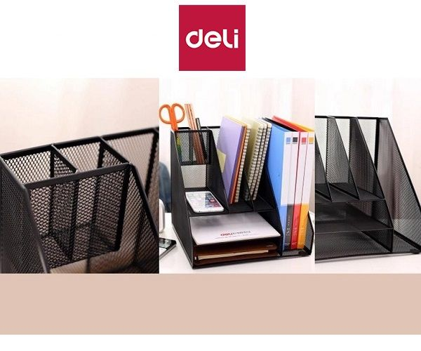 Filing Storage Multi Compartments Holder