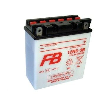 Furukawa Lead Acid Motorcycle Battery
