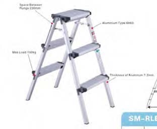 Orex A-type House Ladder Stool 2 X 3 Step