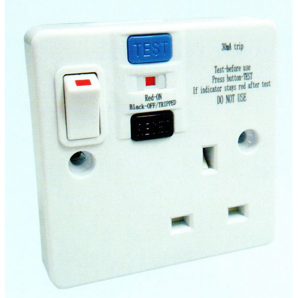 Fym -abc Series Rcd Single Switched Socket Outlet