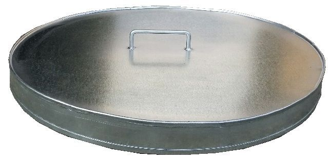 Galvanized Steel Cover for Int'l Steel Drum