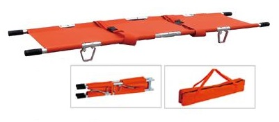 Accsafe Foldable 2 Pole Stretcher With Carrying Bag