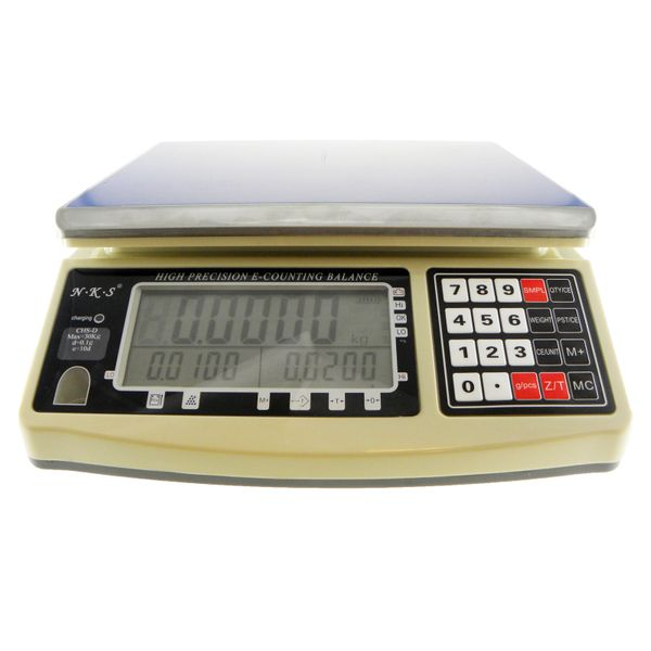 GMM CHS-30D-RS232 30kg/0.1g High Precision Counting Weighing Scale Balance With Pc Interface