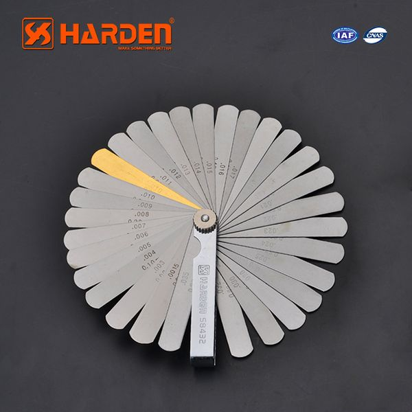 Harden Professional 32pcs 65mn Feeler Gauge 580432