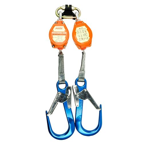 Haru Twin Connected He-2a Vertical Retractable Lifelines