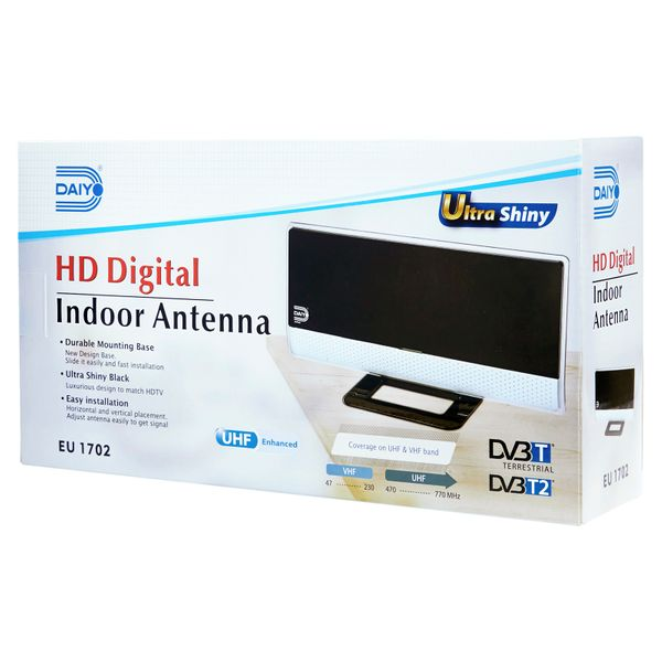Hd Digital Indoor Antenna (with Booster)