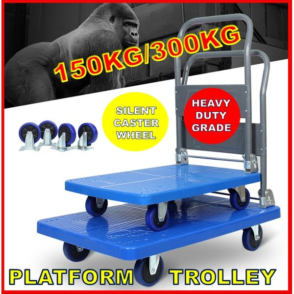 Heavy Duty Platform Trolley 150kg/300kg