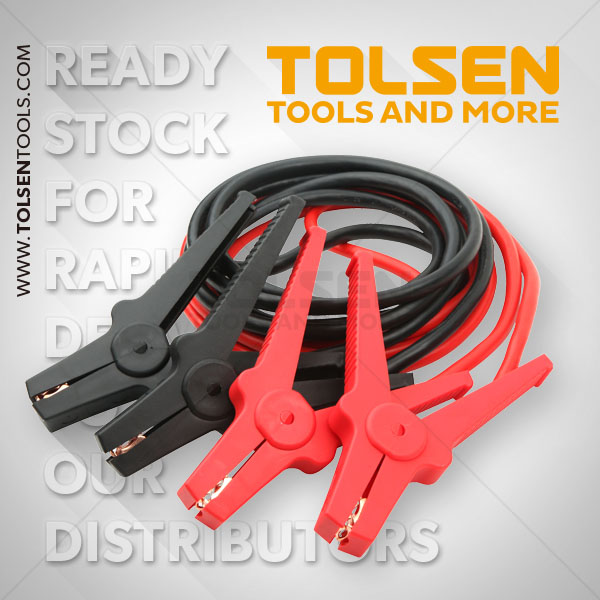 Tolsen 220a Booster Cable 16mm2 65601