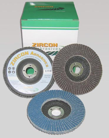 "100mm 4"" Zircon Abrasives Flap Disc (10pcs)"
