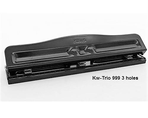 Kw-Trio - 3 holes standard punches