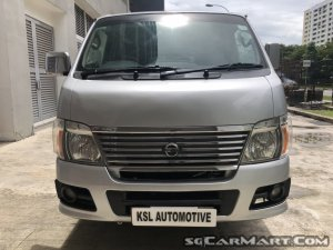 NISSAN URVAN (New 5 Years Coe)(High Loan Avaliable)
