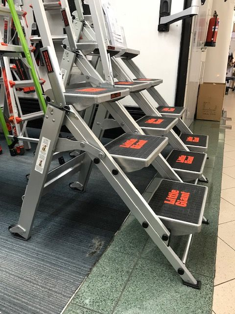 Jumbo 3 Step Platform Stool Ladder