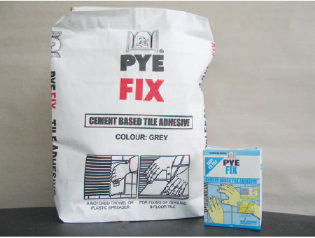 Pye Fix Cement Based Tile Adhesive 1kg Grey WAFX-10