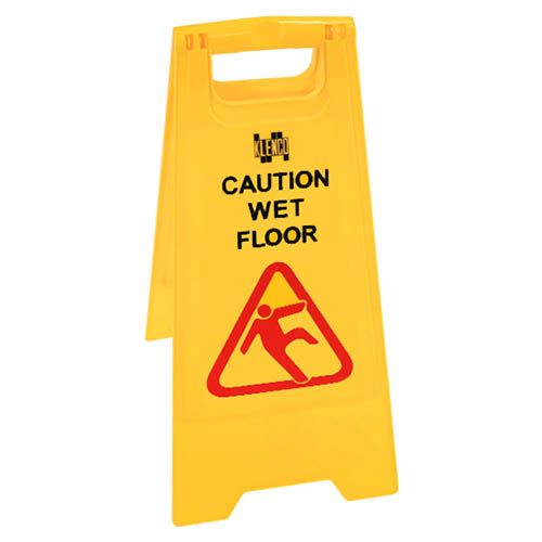 Kleanway Caution Wet Floor Safety Signboard