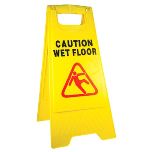 Kleenmaid Floor Safety Sign 'caution Wet Floor and Cleaning in Progress'