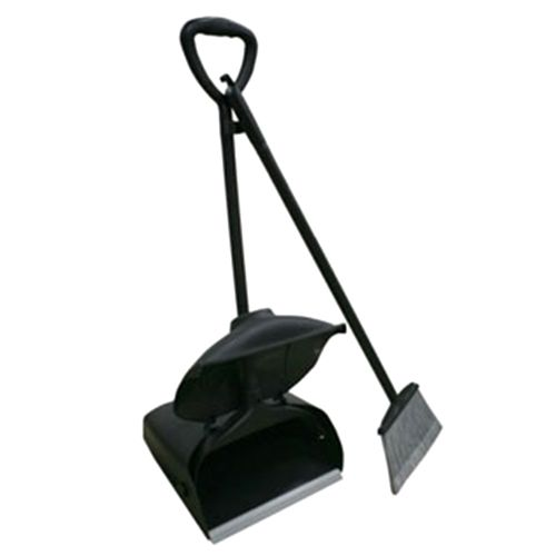 Kleenmaid Lobby Dustpan With Cover and Broom Set