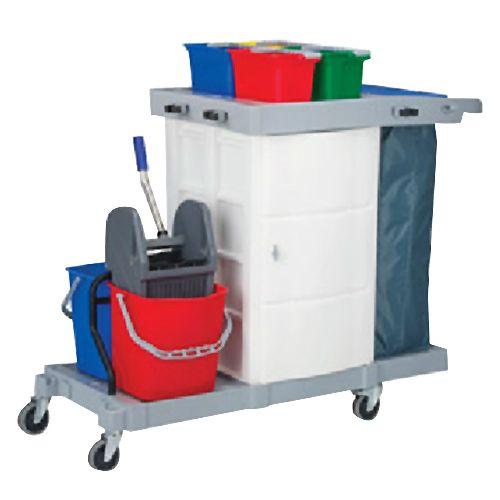 Kleenmaid Multipurpose Janitorial Trolley