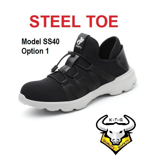 Ktg Steel Toe Sports Safety Work Shoes / Boots Model Ss40 - Option 1