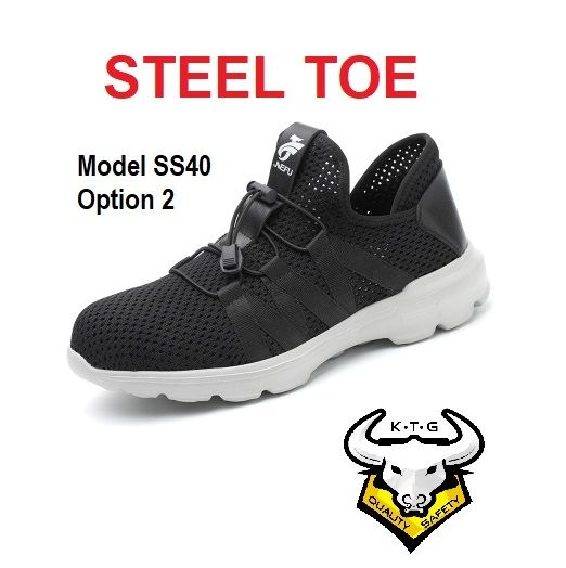 Ktg Steel Toe Sports Safety Work Shoes / Boots Model Ss40 - Option 2