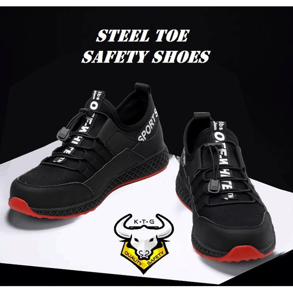 Ktg Steel Toe Sports Safety Work Shoes / Boots Model Ss42 - Option 1