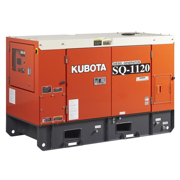 Kubota Diesel Generator 12.5 Kva to 30 Kva, 4-pole Single & Three