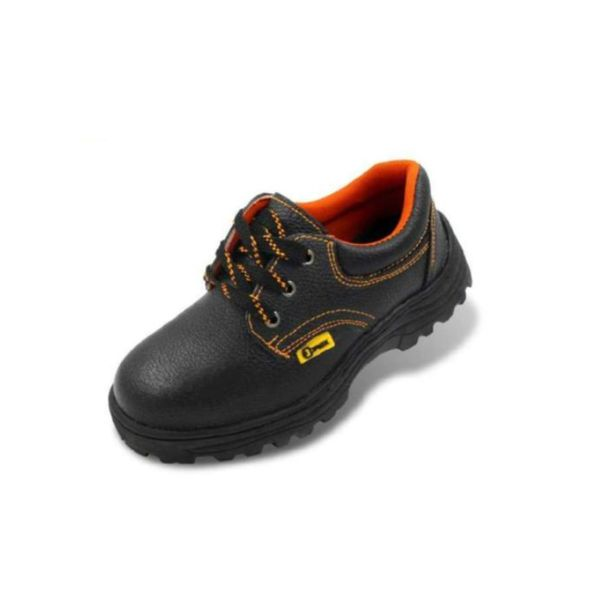 Laced Safety Shoe With Steel Toe-cap & Mid Sole