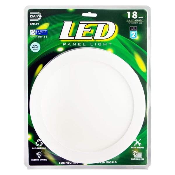 Led Panel Light / Round / 18w / 6000k