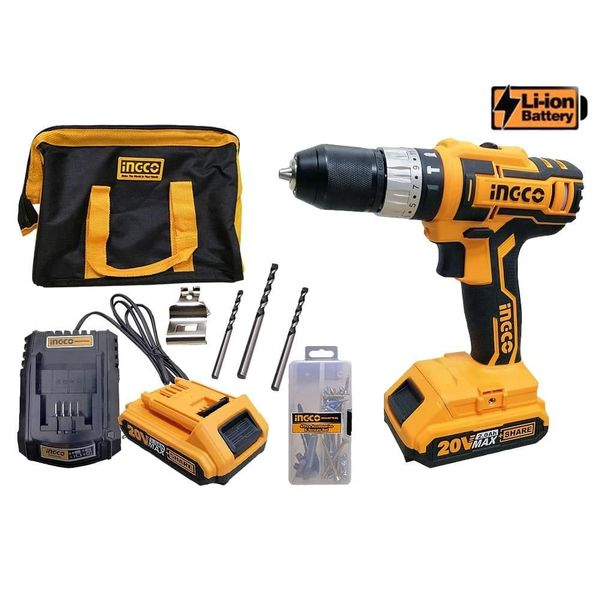 Lithium-ion Battery Impact Drill