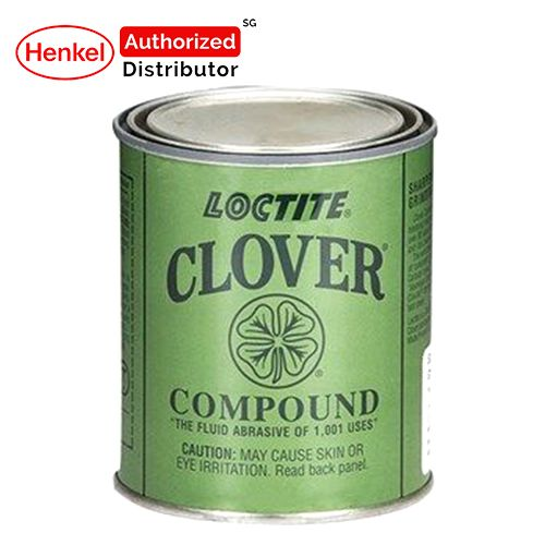 Loctite Clover Compound Grit 180 Fluid Abrasive 1lb Henkel Authorized Distributor