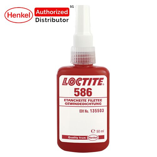Loctite 586 Copper and Brass Thread Sealant 50ml Henkel Authorized Distributor