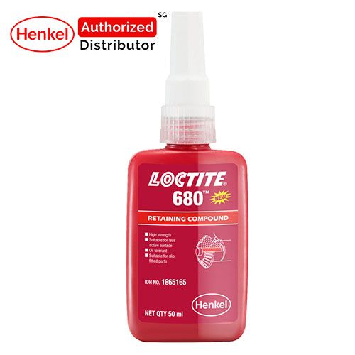 Loctite 680 Low-visc High Strength Retaining Compound 50ml Henkel Authorized Distributor