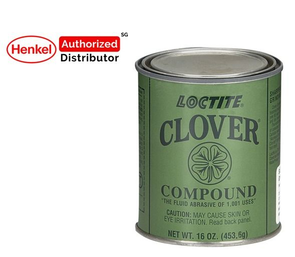 Loctite Clover Compound Grit 400 Grade 2a Fluid Abrasive 1lb Henkel Authorized Distributor