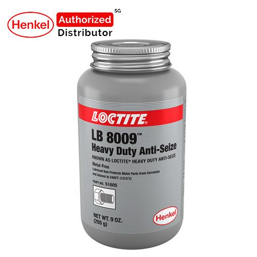 Loctite Lb 8009 Metal Free H/d Brush Top Lubricant 255g Henkel Authorized Distributor