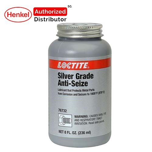 Loctite Lb8150 Silver Grade Brush-top Compound Anti-seize 236ml Henkel Authorized Distributor
