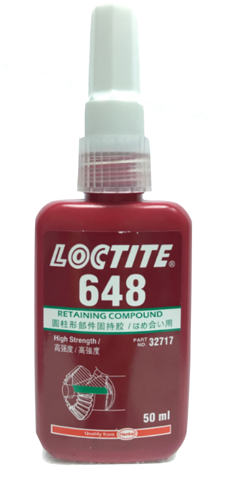 Loctite Retaining Compound 648 (50ml)