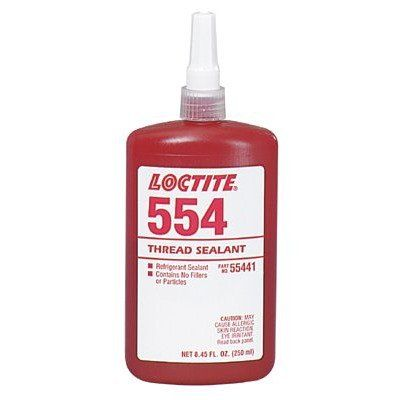 Loctite Threadlocker 554 Refrigerant Sealant (250ml)